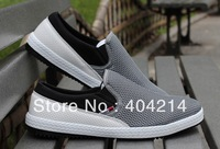 New Design Gray Color Men's shoes Mesh Ventilate outdoor shoe Casual Leisure Sport Skateboard Shoes .