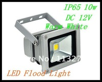 free shipping  10 pcs 12V 10W Warm White LED Flood Light Garden 12 V Wall Wash Landscape Lamp IP65