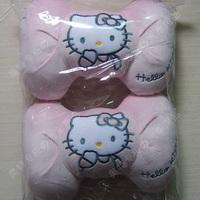 Kt cat head the rascal rabbit headrest car cushion neck pillow super soft plush car accessories