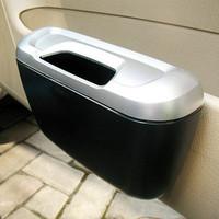 Car rubbish box garbage bucket car eco-friendly storage box garbage bucket car door