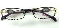 full rim women female metal alloy glasses frame eyewear optical myopia free shipping