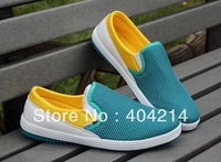 New Design Sky Blue Color Men's shoes Mesh Ventilate outdoor shoe Casual Leisure Sport Skateboard Shoes .