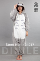 Japan Anime Totoro Costume Cosplay Kigurumi Pajamas S M L XL