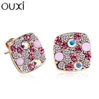 New arrival stud earring Women austria crystal gorgeous vintage fashion gift
