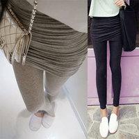 2013 spring and autumn skirt legging female thin basic skirt pants d030
