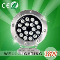 18W swimming pool,high power led chip epsitar 45mil,DC12V/DC24V,White/warmwhite,led underwater pool,4pcs/lot