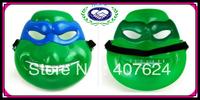30pcs/lot Free Shipping plastic teenage mutant ninja turtles mask party mask novelty 2013 green plastic mask