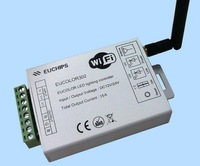 Eucolor302; 3 channel output RGB led wifi controller,DC12-24V input;5A*3 channel
