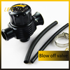 high profermance auto turbo 25mm Dual Plumb Black Blow Off Valve Golf 1.8T