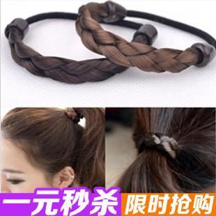 Seconds kill false twist braid hair band ring have hair band rope hair ornament