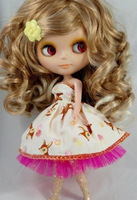 free shipping Small dolls wig blythe doll wig blythe high temperature wire wig hair