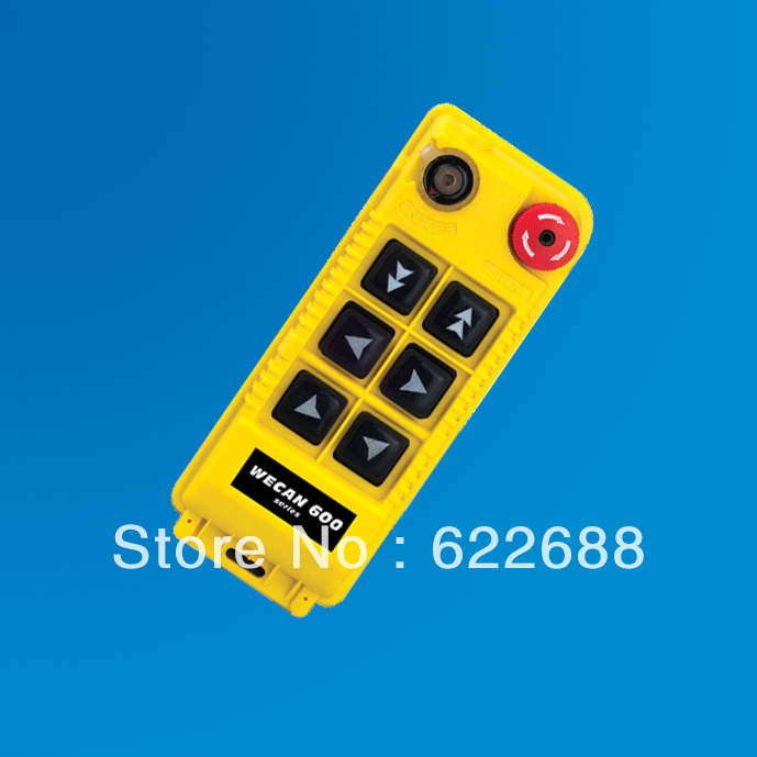 FREE SHIPPING~ Radio remote control for crane, remote control gantry crane, industrial wireless remote By DHL 1set WECAN-610S(China (Mainland))
