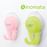 Inomata le for af wall suction cup hook seamless adhesive hook 2 r159