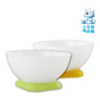 Free shipping Small bear feeding bowls pp material 2 pcs/lot  09075