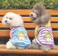 2013 New Summer Cotton Pet Dog Clothes Lovely Pig Hooded T-shirt Sweater,  2 Colors Available