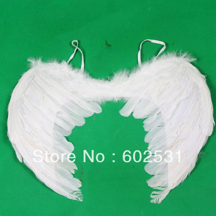 Как сделать крылья ангела без перьев своими