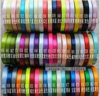 "Wholesale 3/8""(10mm)  single Face Satin Ribbon Gift Packaging Hair Bows Free Shipping cheap satin ribbons golden white red black"