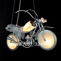 1pcs/lot free shipping Motorcycle modern pendant Light cartoon lighting bedroom lamp child lamp boy 85-265V