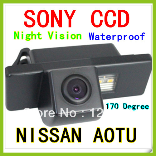 CCD SONY Car Rear View Camera Fr Nissan Pathfinder Dualis X-TRAIL QASHQAI GENISS(China (Mainland))
