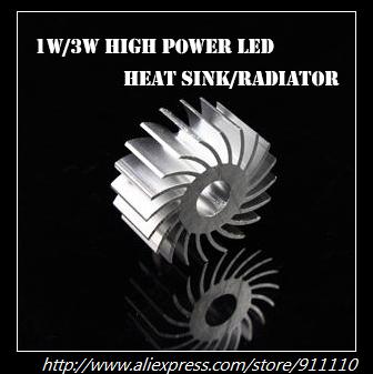 1W/3W High Power Led  Heatsink /Radiator