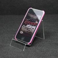 Acrylic mobile phone holder display rack showcase cell phone holder mobile phone transparent display rack