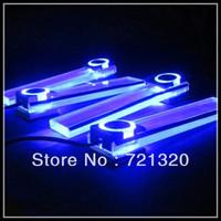 Free Shipping Seven Colors 4LED Car Lnterior Light Charge 12V Decorative Atmosphere Lamp  led car lamp