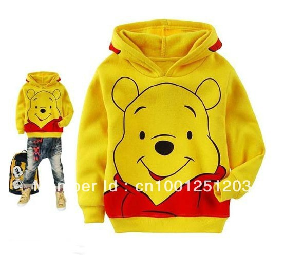 50 sport cartoon printing childrens clothing boy's girl's top shirts Hooded Sweater hoodie coat overcoat topcoat free shipping(China (Mainland))