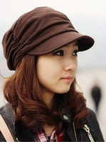 Fashion pleated spring and autumn fashion cap casual personality women's hat bucket hat