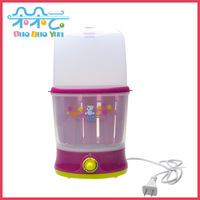 Small bear multifunctional milk sterilizer heated food supplement three-in double bottle warm milk hl-0809