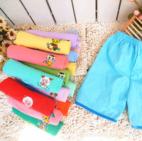 Free Shipping(10pcs/lot) children's baby kids cartoon shorts multicolor design pants bright colours shorts boy girls short pants
