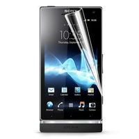 5 x CLEAR LCD SCREEN PROTECTOR COVER FILM FOR SONY XPERIA S LT26i FREE SHIPPING