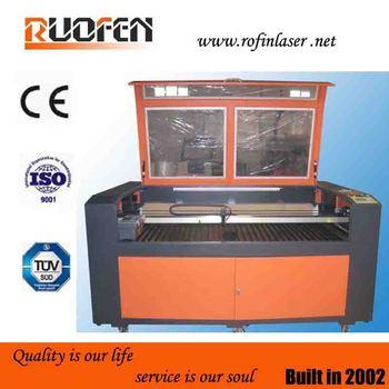 High speed/precision laser wood engraving machine