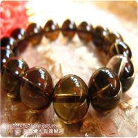 Natural ice kinds of smoky quartz smoky quartz bracelet smoky quartz male Women