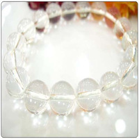 Sugar top 3aaa natural white crystal bracelet male Women