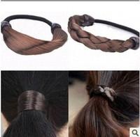 South Korea imported jewelry simulation wig ponytail holder!#1321