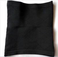 2pcs/lot  Men's Body Shaper Slimming Belly Abdomen Belt Black Undershirt Waist Size M L