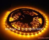 60leds /m Flexible SMD 5050 Amber LED Strip Light Amber