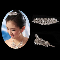The bride hair accessory princess insert comb bride hj821