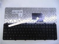 Free shipping Laptop Keyboard  SP layout for hp dv7-6000 black 664264-001