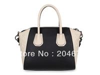 New free shipping best quality genuine leather fashion women tote bag Original brand designer shoulder bag 7 colors
