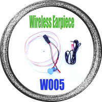 Free shipping, W005 Brand New Wireless Earpiece, Mini Earphone for Cell Phones