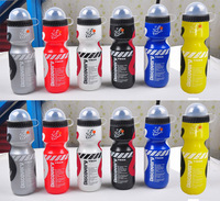 free shipping  Bicycle kettle cycling sports bottle in four colors 650ML Tour de France sports bottle