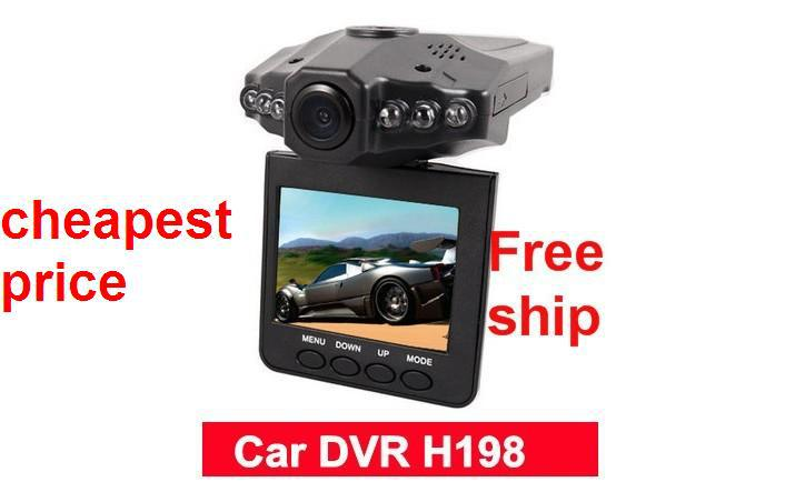 "2.5""Color LCD 6 IR LED Night Car Video Recorder Vision Motion Detection Camcorder Vehicle In Stock(China (Mainland))"