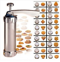 Cookie Press Machine Biscuit Maker Cake Making Decorating Gun Kitchen Tools Set(China (Mainland))