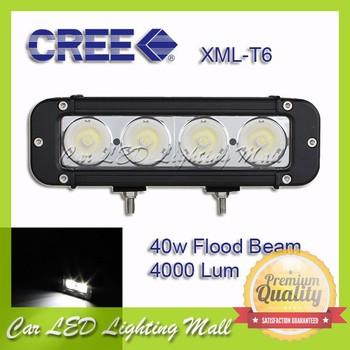 "FreeShipping! 7.8"" 40W CREE LED LIGHT BAR ,LED DRIVING LIGHT FOR OFF ROAD ,MARINE,ATV,UTV USE Flood Beam"