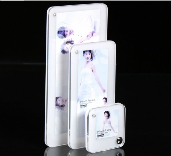 Free shipping Triad combination of creative photo frames/Marriage gauze picture frame/Studio picture frame/Acrylic photo frame(China (Mainland))