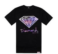 Free shipping 2014 mens hip hop t shirt new style  diamond supply mens tees