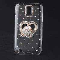 Bling Diamond Lovely Cat Hard Back Case For Samsung Galaxy S2 T989 T-Mobile Phone