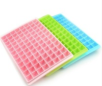 (Minimum order $5,can mix) 96 Grid Plastic Jewelry Diamond Shape Ice Cube Maker Mold Tray CM950