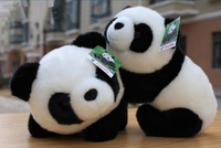 Free Shipping White 26CM Children Plush Pillow Cute Lovely Animal Panda Stuffed Plush Toy Doll For Kids,Festival Baby Toys